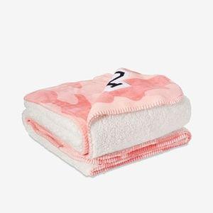 VS PINK Camo Sherpa Blanket